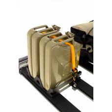 ARB BASE Rack Degvielas kannas turētājs dubults vertikāls