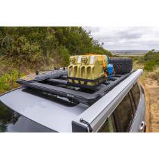 ARB BASE Rack Degvielas kannas turētājs dubults horizontāls