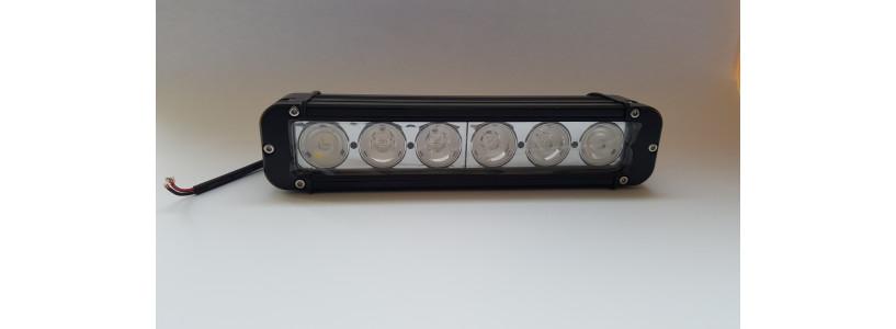 6 LED lukturis