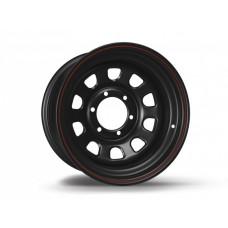 XT Automotive Daytona disks 10x15 melns